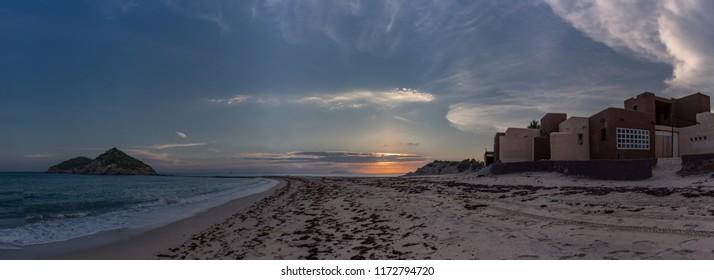 Beach Sunset at San Carlos Sonora, Mexico