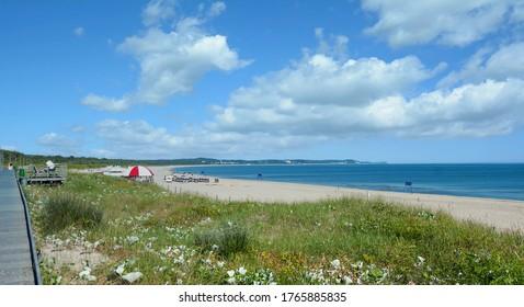 Strand von Swinoujscie am Ostsee, Pommern, Polen