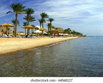 Strand in Taba Egypt