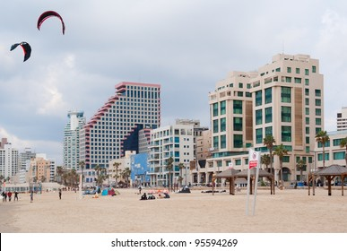 Beach of Tel Aviv, Israel