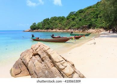 beach thailand, koh phangan, haad khom, south asia