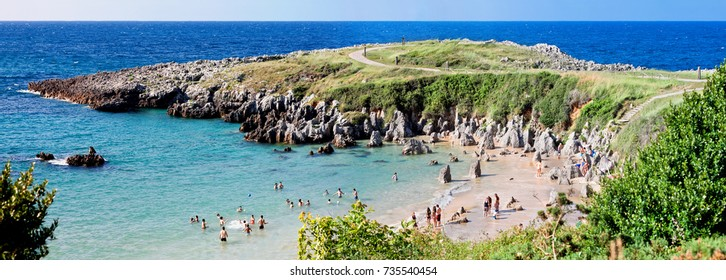 Beach Togo and Punta Radon, Llanes, Asturias, Spain