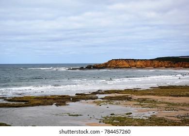 Beach of Torquay, Australia