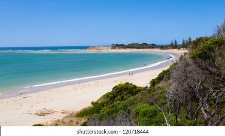 The beach at Torquay Victoria Australia