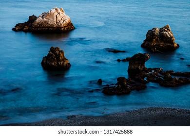 Beach of Torre la Sal - Tower of the Salt, Casares, Malaga, Spain