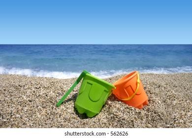 Beach toys (summer vacation)