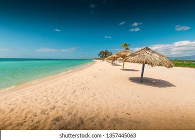 Beach in Trinidad de Cuba