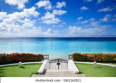 beach and tropical sea Beautiful landscape