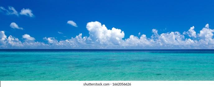 beach and tropical sea. sea  landscape
