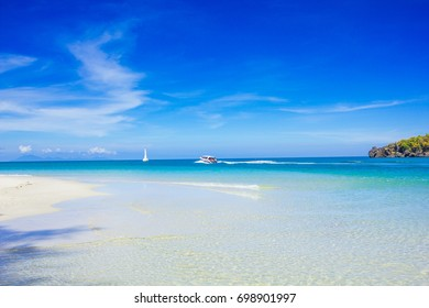 beach and tropical sea, Tarutao Island, Thailand