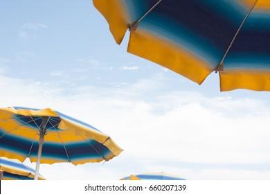 Beach umbrella details