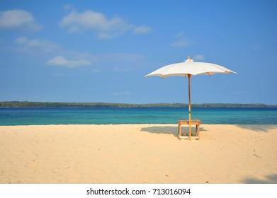 Beach Umbrella at The Paradise Islands