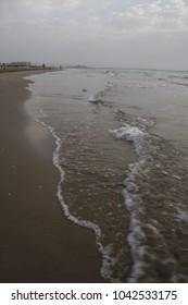 beach valencia spain