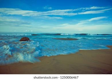 beach in Varkala, Kerala, India