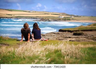 Beach View Couple