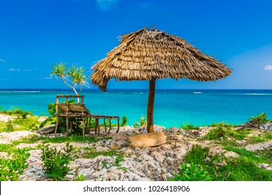 Beach view. Nungwi, Zanzibar, Tanzania.