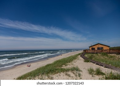 beach view on the Curonian Spit