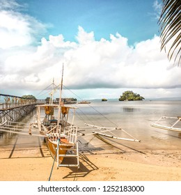 Beach View, Philippines Background Backdrop