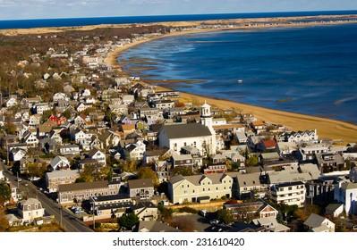 Beach view seashore, Cape Cod the USA