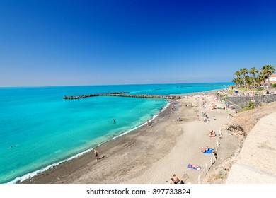 Beach view at Tenerife, Spain