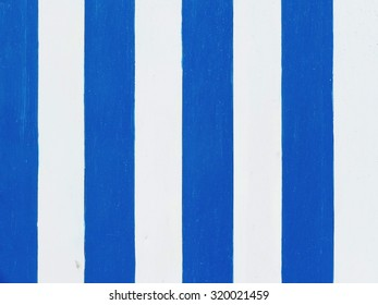 beach vintage style background painted by hand with stripes in white and blue