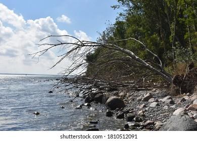 Beach of Vitt on the island of Ruegen