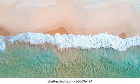 Beach Waves, Jervis Bay, ACT, Australia