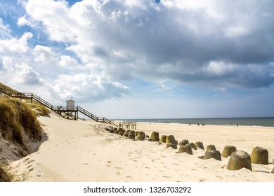 Beach in Westerland, Sylt, Germany
