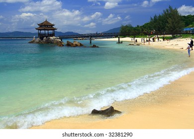 beach at Wuzhizhou Island