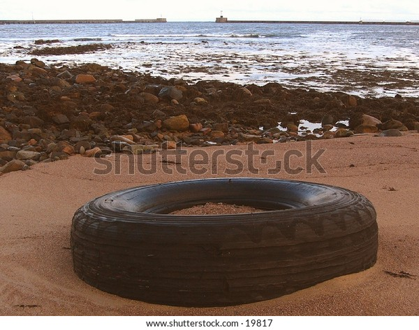 Beached Tyre