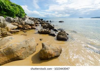 Beaches of the island of Cu Lao Cham in Vietnam