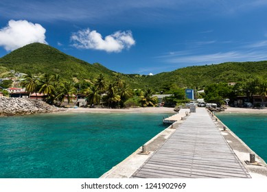 beaches on an exotic island in the Caribbean