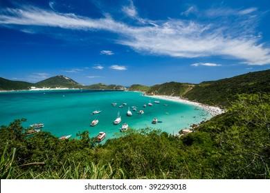 Beaches of Pontal do Atalaia, Arraial do Cabo, Rio de Janeiro, Brazil