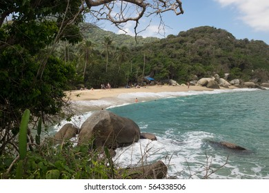 Beaches in Tayrona National Park in Colombia