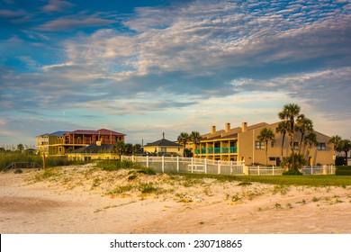 Beachfront hotel at St. Augustine Beach, Florida.