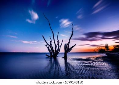 Beachmere Sunset Brisbane Queensland