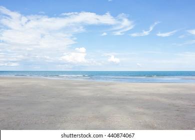 beach,sea and blue sky