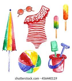 beach,summer,swimsuit,items for the beach