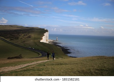 Beachy Head Light House, Susses, England - Shutterstock ID 1851582181