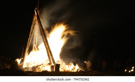 Bealtaine Fire Festival Uisneach Westmeath Ireland
