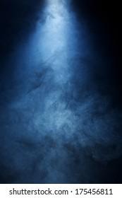 Beam of Light Passing through Intricate smoke Texture 2