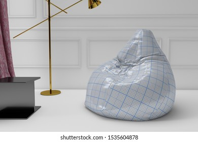 Marvelous Bean Bag Chair Stock Photos Images Photography Shutterstock Bralicious Painted Fabric Chair Ideas Braliciousco