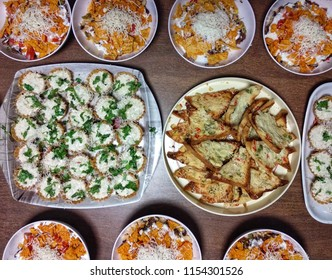 Bean Burritos Bowl, Chaat basket and Cheese chilli toasted garlic bread