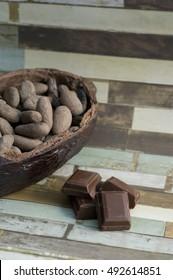 bean of cocoa