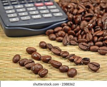 Bean Counter - accounting concept
