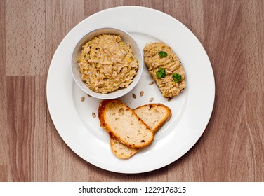 Bean and leek spread