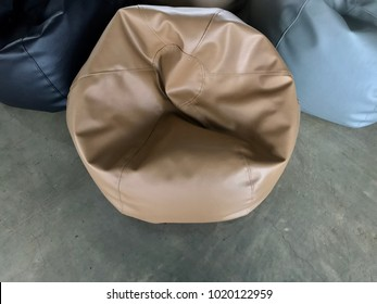Outstanding Brown Beanbag Images Stock Photos Vectors Shutterstock Pabps2019 Chair Design Images Pabps2019Com