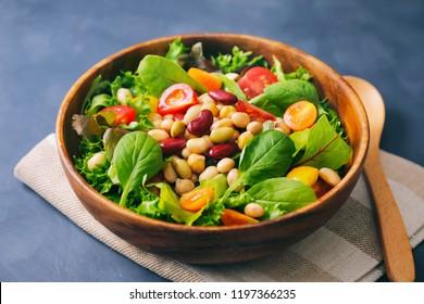 Beans mix salad
