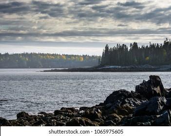 Bear Island. Mt. Desert Island, Acadia National Park, Maine