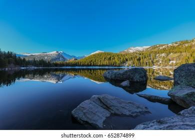 Bear Lake. Estes Park Colorado